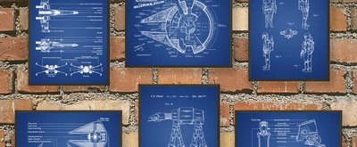 Star Wars Patent Prints