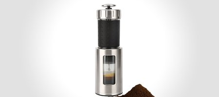 Staresso Coffee Maker: Espresso, Cappucino and Quick Cold Brew In One