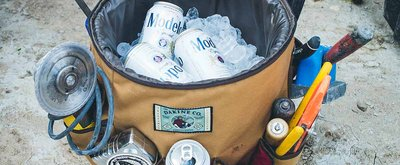 Party Bucket That Holds Beer and Tools