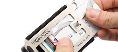 Trayvax Axis Wallet Minimal Wallet