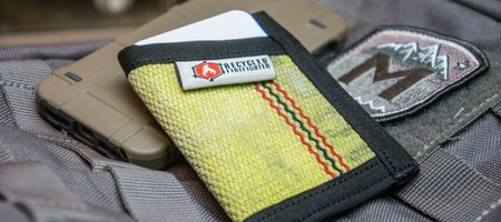 Recycled Firehose Wallet