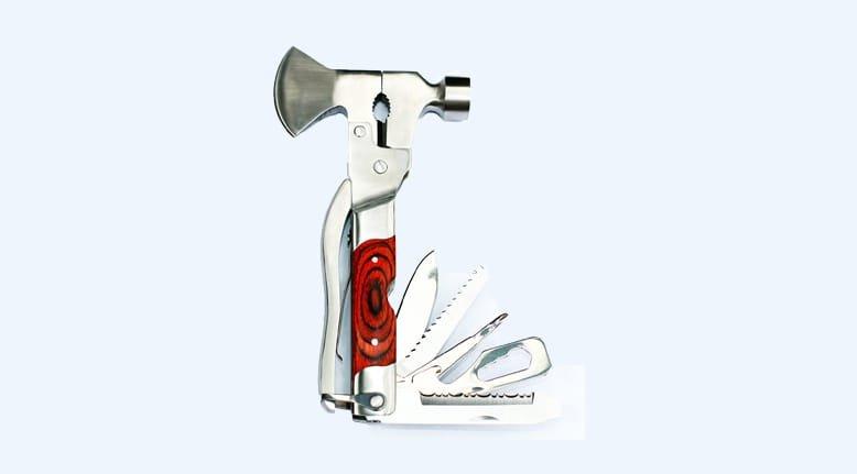 Mo-Tool Axe with Oak Inlay
