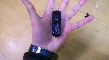World's Smallest Phone, Ideal for Prison and Smugglers