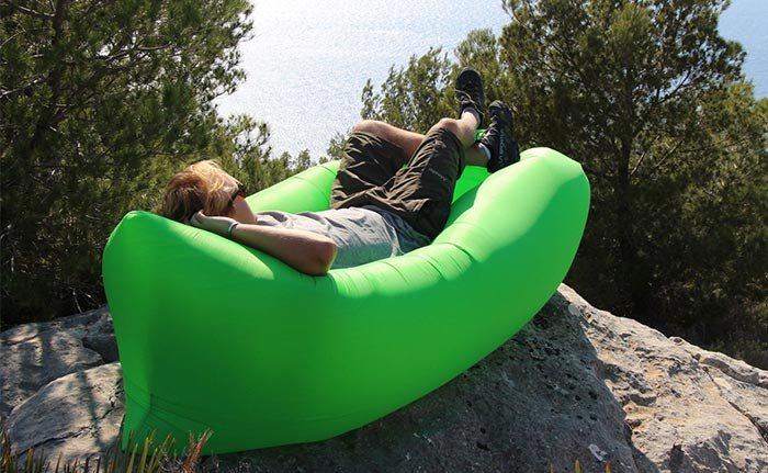 Inflatable Hammock Works On Water Or Land