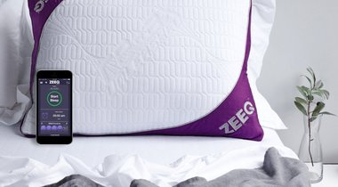 Smart Pillow That Stops Your Snoring and Tracks Sleep Patterns