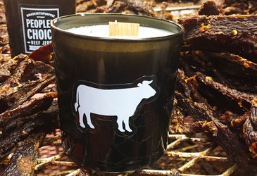 Beef Jerky Candle