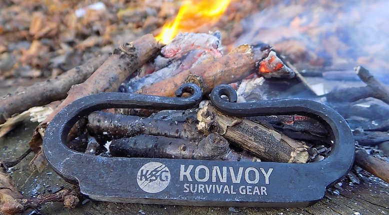 Steel Knuckle Fire Starter Kit