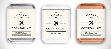 TSA-Approved Carry On Cocktail Kit