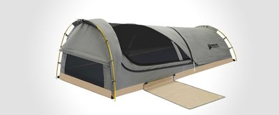 The Modern Bedroll: Kodiak Canvas Swag Tent