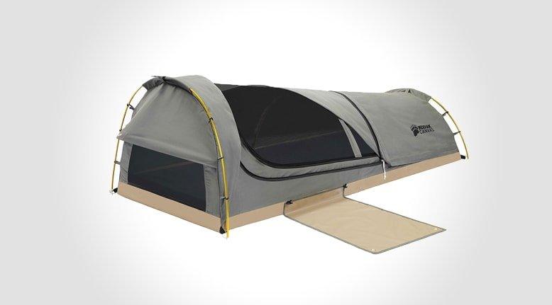 The Modern Bedroll: Kodiak Canvas Swag Tent