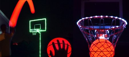 Light Up Basketball Hoop Kit with LED Basketball