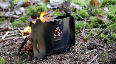 Bushcraft Ultra-Light Pocket Stove