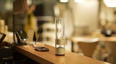 Glass Bluetooth Speaker