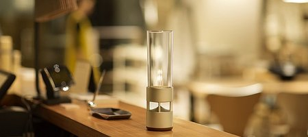 Glass Bluetooth Speaker