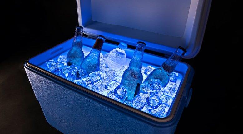 LED Cooler Lights