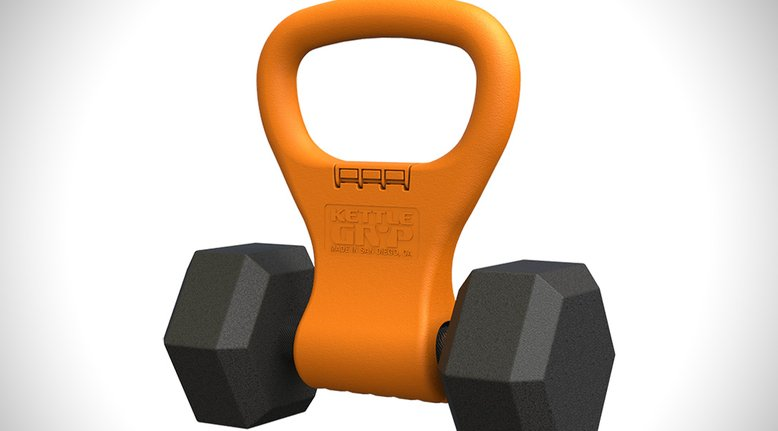 Kettle Gryp: Turn Any Dumbell into a Kettle Bell