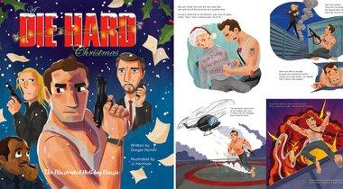 Illustrated Die Hard Christmas