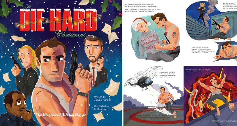 Illustrated Die Hard Christmas