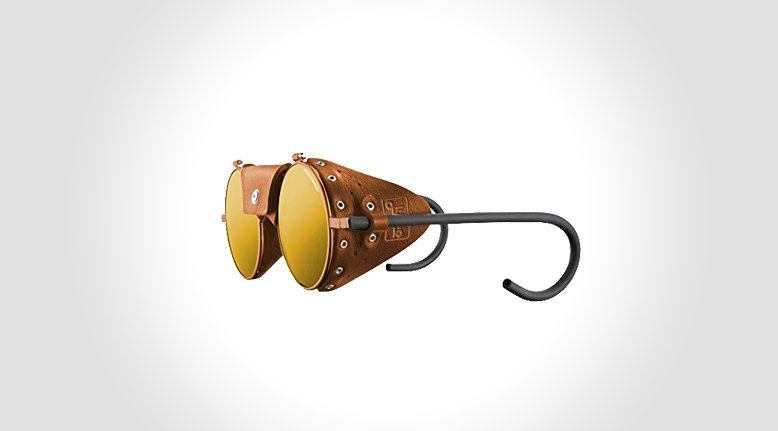 Leather Mountaineering Sunglasses