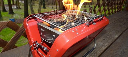 Portable Grill Suitcase