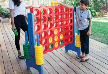 Giant Indoor/Outdoor Connect 4 Game