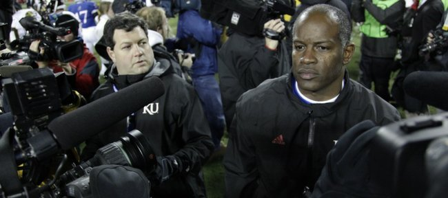 Turner Gill is done.