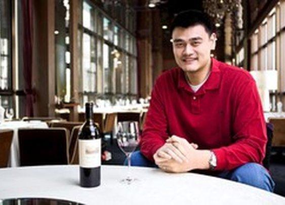 Yao Ming's... wine company?