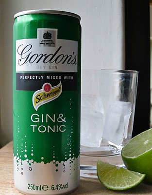 Gin and Tonic IN A CAN.