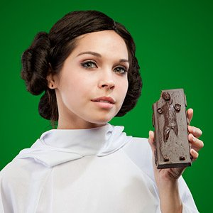Han Solo Chocolate Bar