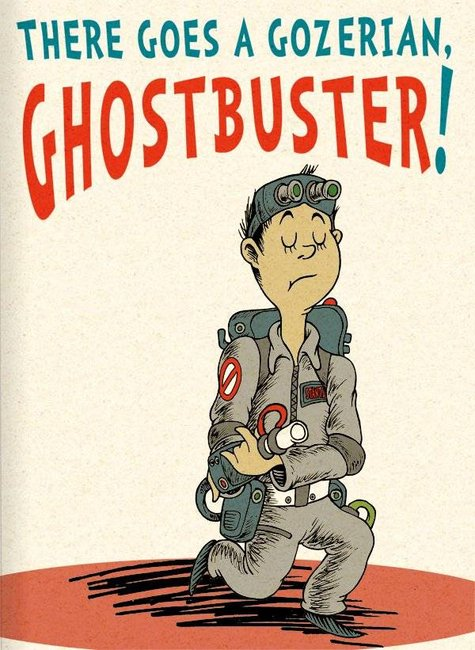 Ghostbusters as a Dr. Seuss book
