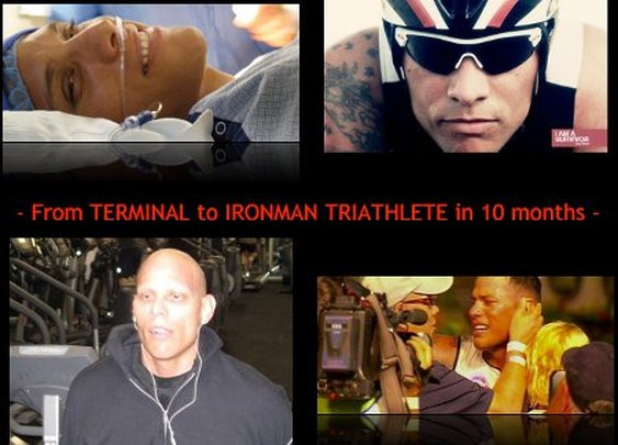 Marine Corps Veteran Goes from Terminal Cancer Diagnosis to Ironman in 10 Months