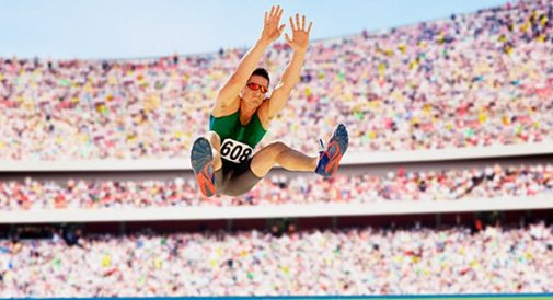 Area Dad Hopes Son's Interest In Long Jumping Just A Phase