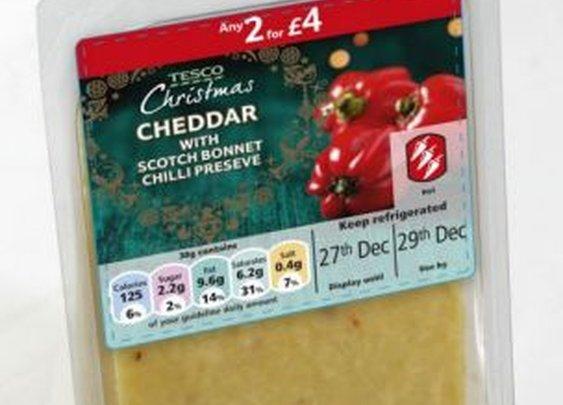Britian's hottest cheese: Scotch Bonnet Cheddar