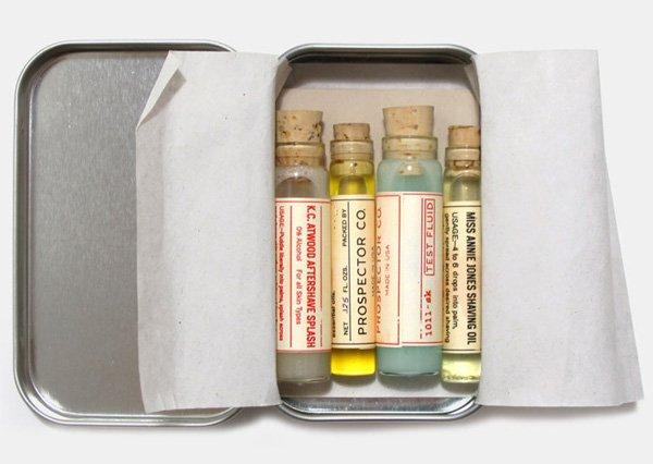 Prospector Co. Tester Vials for Men