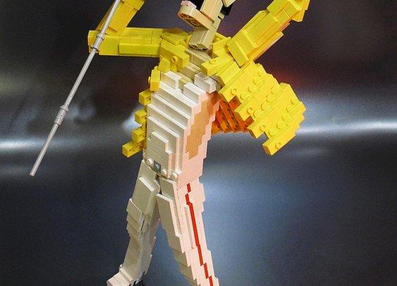Lego Tribute to Freddie Mercury