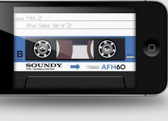 Old Skool: Cassette tape emulator for iPhone
