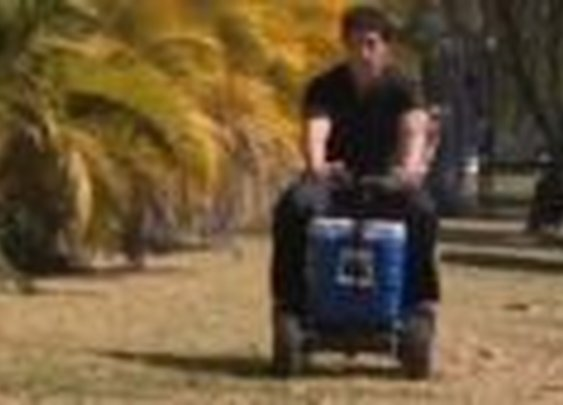 Guy gets a DUI on a motorized cooler