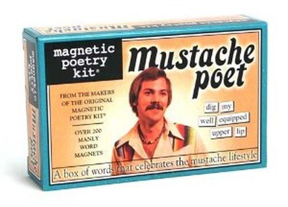 The moustache poet