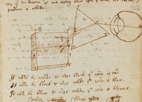 Isaac Newton's Personal Notebooks Go Digital