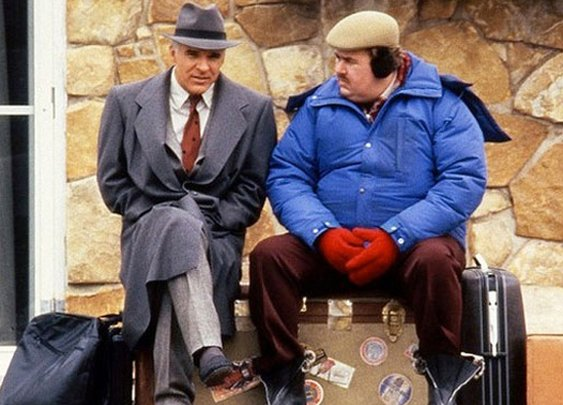 Dress like John Candy in Trains, Planes and Automobiles