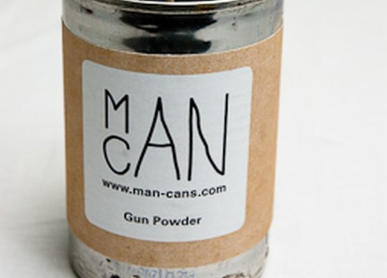 Man Cans - Manly scented candles