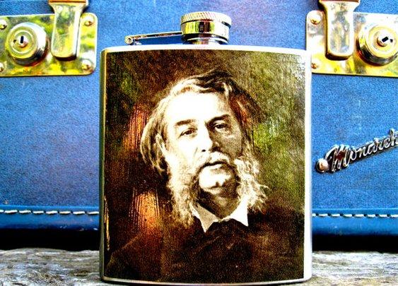 One Man Beard flask