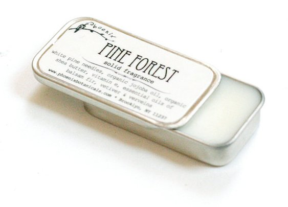 Pine Forest solid cologne