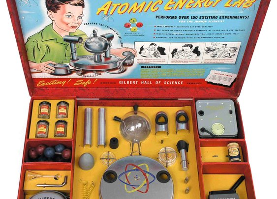1951 Children's Atomic Energy play set