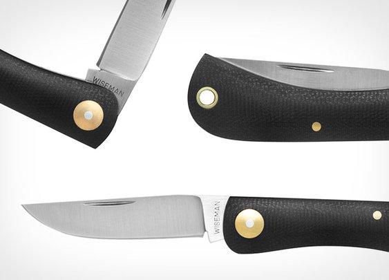G. Wiseman x Kauffman Mercantile Sodbuster Pocket Knife