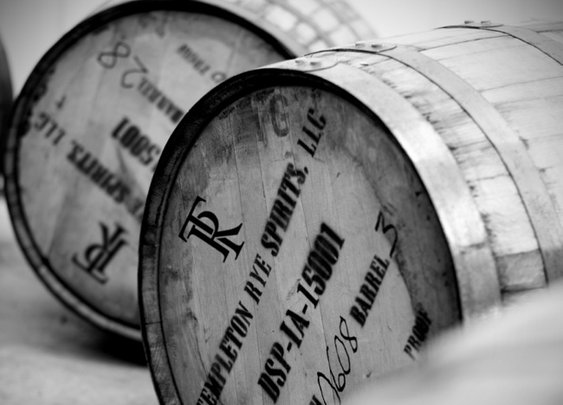 Buy a used whisky barrel for $150