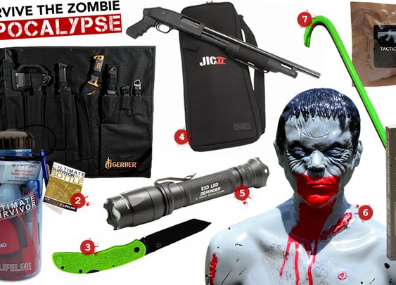 Tools needed to survive the zombie apocalypse