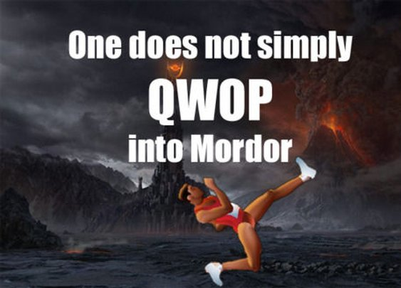 One Does Not Simply Walk Into Mordor...