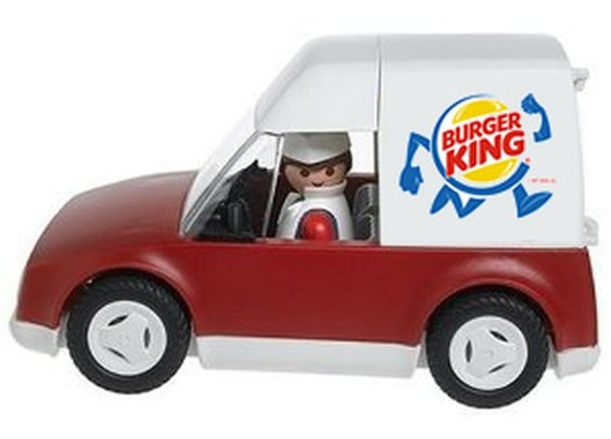 Welcome to Burger King, will this be for delivery?