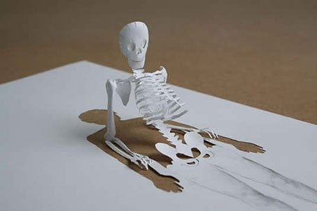 art from a single sheet of paper